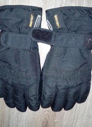 Мужские перчатки ziener gore-tex