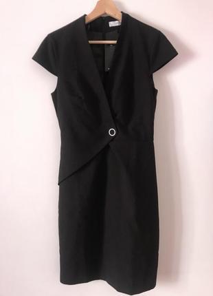 Єлегантне,чорное  плаття  mango.новинка.