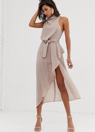 Асимметричное платье  asos,  размер 6