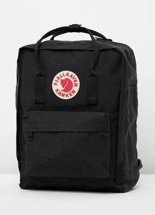 Рюкзак канкен черный fjallraven kanken портфель сумка
