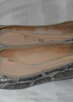 Туфлі шкіряні unisa розмір 41, туфли кожание размер 41