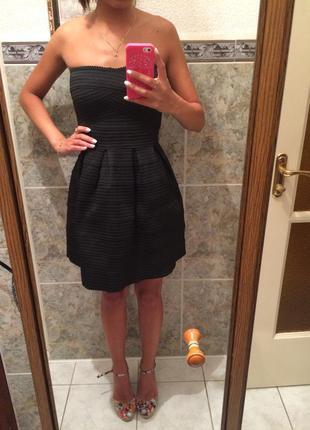 Вечернее бандажное платье нарядное на праздник