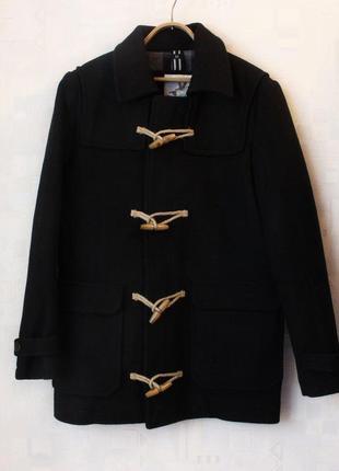 Мужское шерстяное пальто john partridge duffle coat, размер м