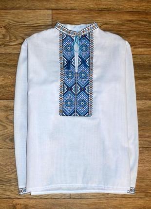 Вишиванка вышиванка сорочка с вышивкою подростковая 14 лет