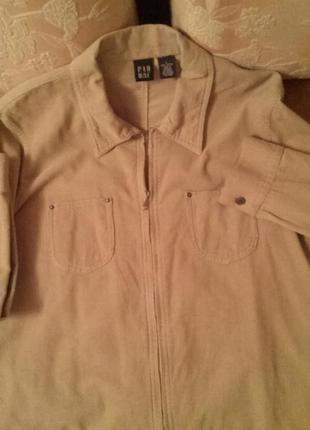 Вельветовая рубашка gap