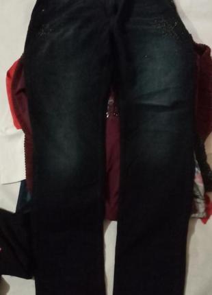 Брендовые джинсы большого размера