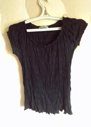 Черная блуза marks & spencer
