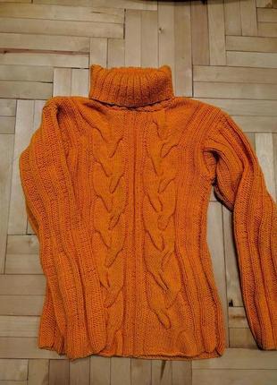 Теплый вязанный свитер, кофта, гольф, свитер4 фото
