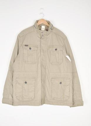"""Хлопковая куртка в стиле """"сафари"""""""