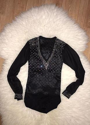 Рубашка для бальных танцев латина
