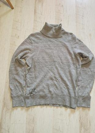 Теплый шерстяной свитер diesel