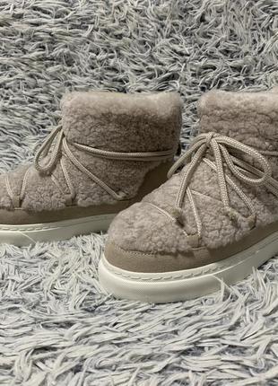 Ботинки зимние луноходы угги сапоги