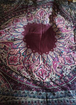 Платок шаль шерстяной