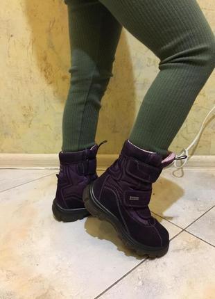 Сапожки ботинки зимние сапоги черевики апрески naturino р.29 (17.5см)