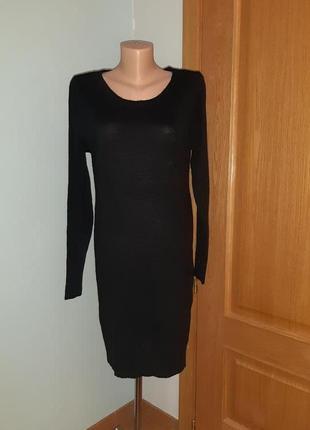 Вязаное платье-свитер only(испания)