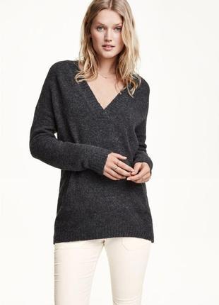 Кофта свитер пуловер h&m l.o.g.g. с шерстью