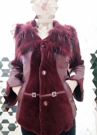 Дубленка кожаная куртка