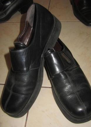 Удобные женские туфельки размер 39, кожа, Италия