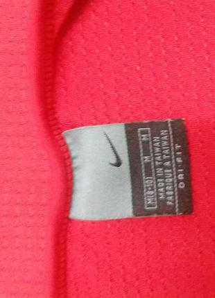 Красная спортивная футболка nike оригинал (для фитнеса,спорта)4
