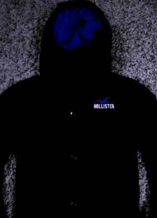 Куртка hollister( на флисе)