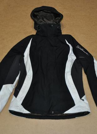 Salomon теплая женская лыжная куртка саломон