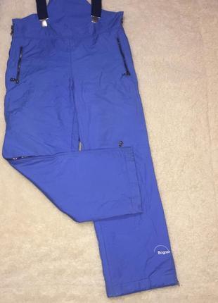 Лыжные горнолыжные сноуборд штаны полукомбинезон