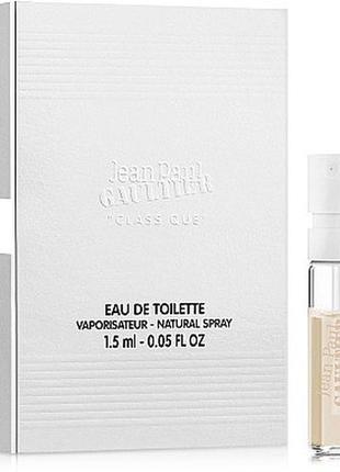Jean paul gaultier classique, edt, пробник, 1,5 мл, оригинал 1993