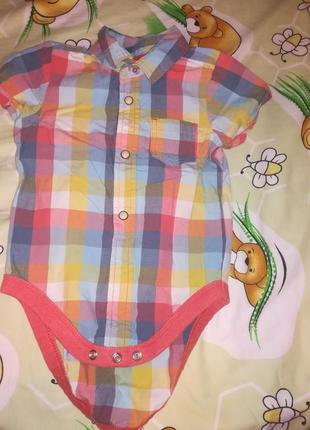 Бодик рубашка