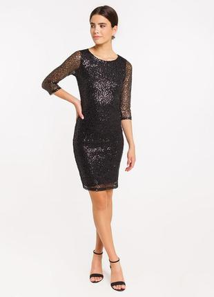 Продам новое женское блестящее праздничное новогоднее платье в паетках