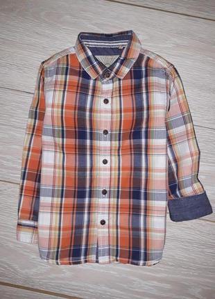 Рубашка next на 2-3 года 2015г