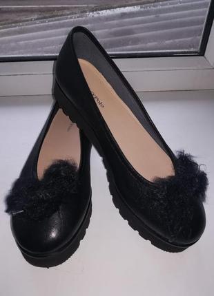 Женские туфли лоферы marc o'polo