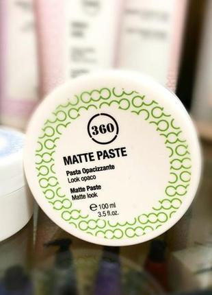 Матовая паста для укладки волос 100 мл, 360 kaaral