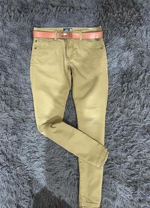 Тёплые зимние джинсы  внутри на подкладке  бренд  vintage co