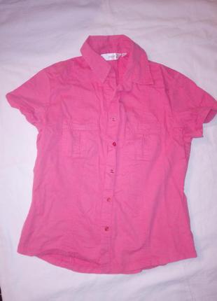 Качественная рубашечка с коротким рукавом от next