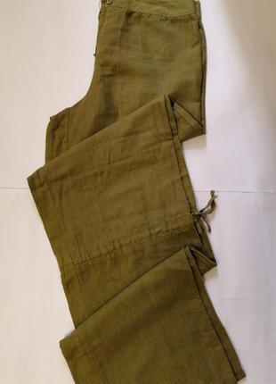 Летние лёгкие брюки kos, размер с