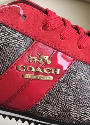 Кроссовки coach очень эффектно смотрятся. Coach, цена - 1500 грн ... e5cc164b08b