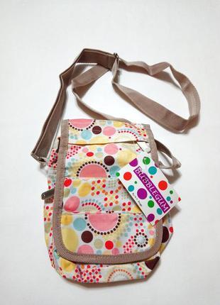 Маленькая сумка с ярким принтом n.v.bags