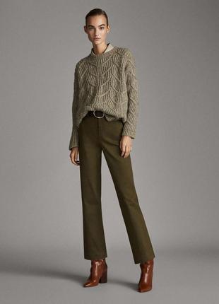 Расклешенные брюки fit chinos