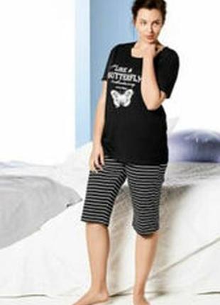 Пижама костюм для дома р.евро 48 50 xl esmara германия бриджи футболка
