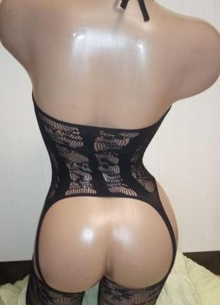 5-137 сексуальна боді сітка боди-сетка в упаковке бодистокинг сексуальное белье5 фото