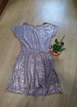 Нарядное шикарное платье, туника