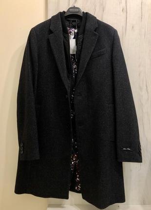 Новое зимнее пальто ted baker, размер l {4}2 фото