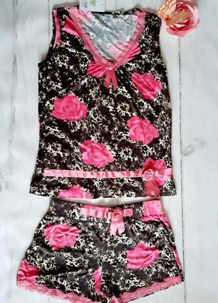 Майка шорты ,размер l бренд penye mood2 фото