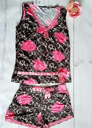 Майка шорты ,размер l бренд penye mood4 фото