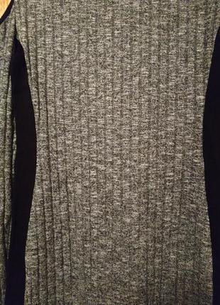 Черное с серым платье select размер 40(12)