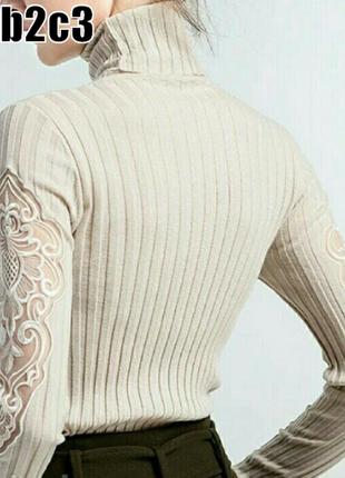 Гольф водолазка кофта свитер реглан полувер джемпер женский 5 цветов