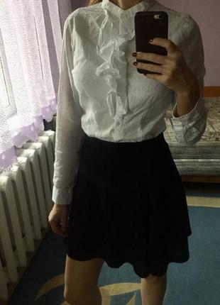 Красивая юбка с люрексной ниткой!