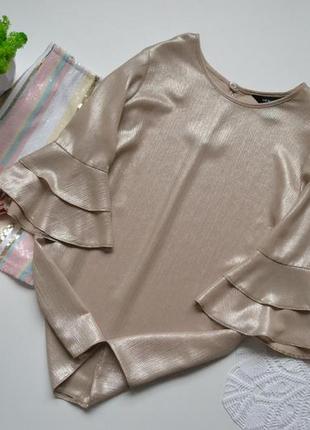 Блуза рукав воланом new look
