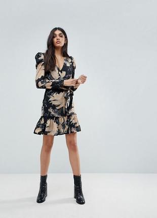Платье   цветочным принтом parisian , размер 14