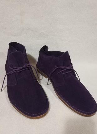 Фирменные стильные оригинальные натуральные качественные туфли.2 фото